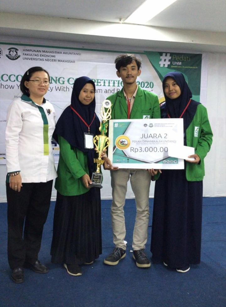 Kontingen Akuntansi UIN Alauddin Makassar Raih Prestasi di Ajang Pekan Dinamika Akuntansi 2020